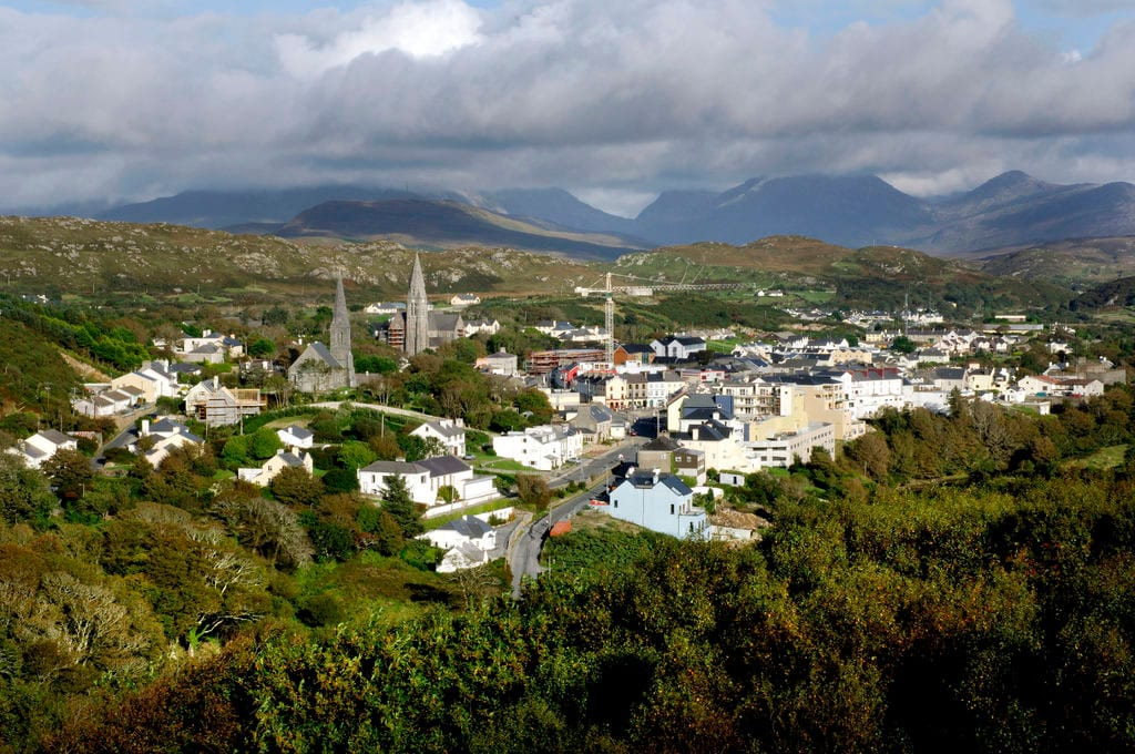 Clifden - Capital of Connemara: Information about the town of