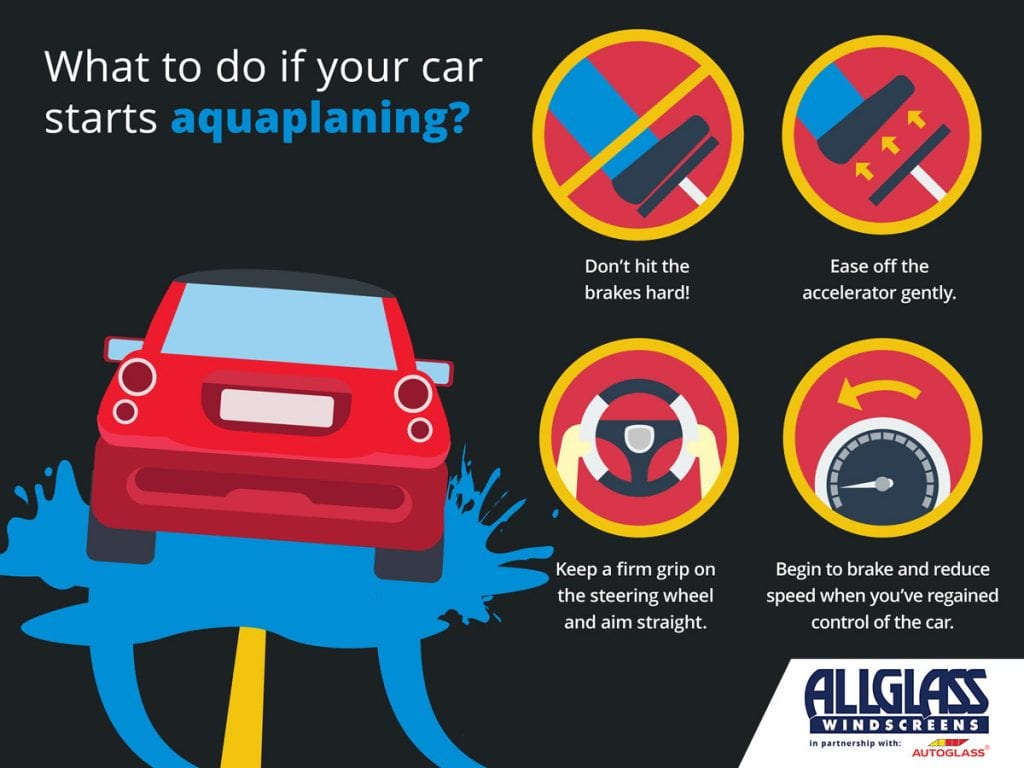 What to do if your car hydroplanes