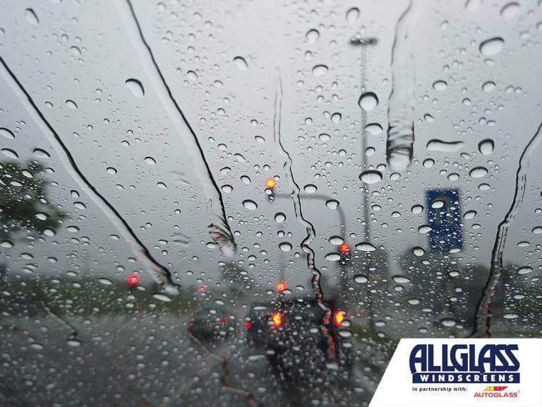 Safe Driving in Heavy Rain