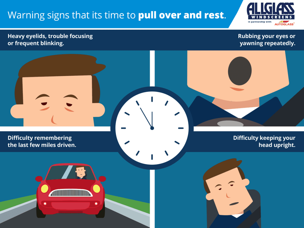 Summer Driving Driver Fatigue